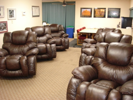 On Friday April 16, 2010, PLEA Took Delivery Of Eight New Oversize Recliner  Chairs For The Officeru0027s Lounge At The PLEA Office. Six Of The Chairs Went  Into ...