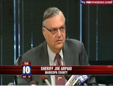 (Maricopa County Seriff Joe Arpaio)