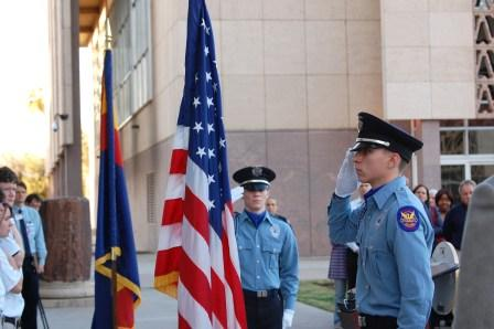 PPD Explorers Render Honors