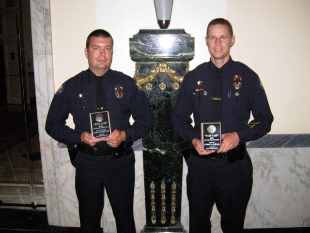 Officer Pittatsis and Officer Spross
