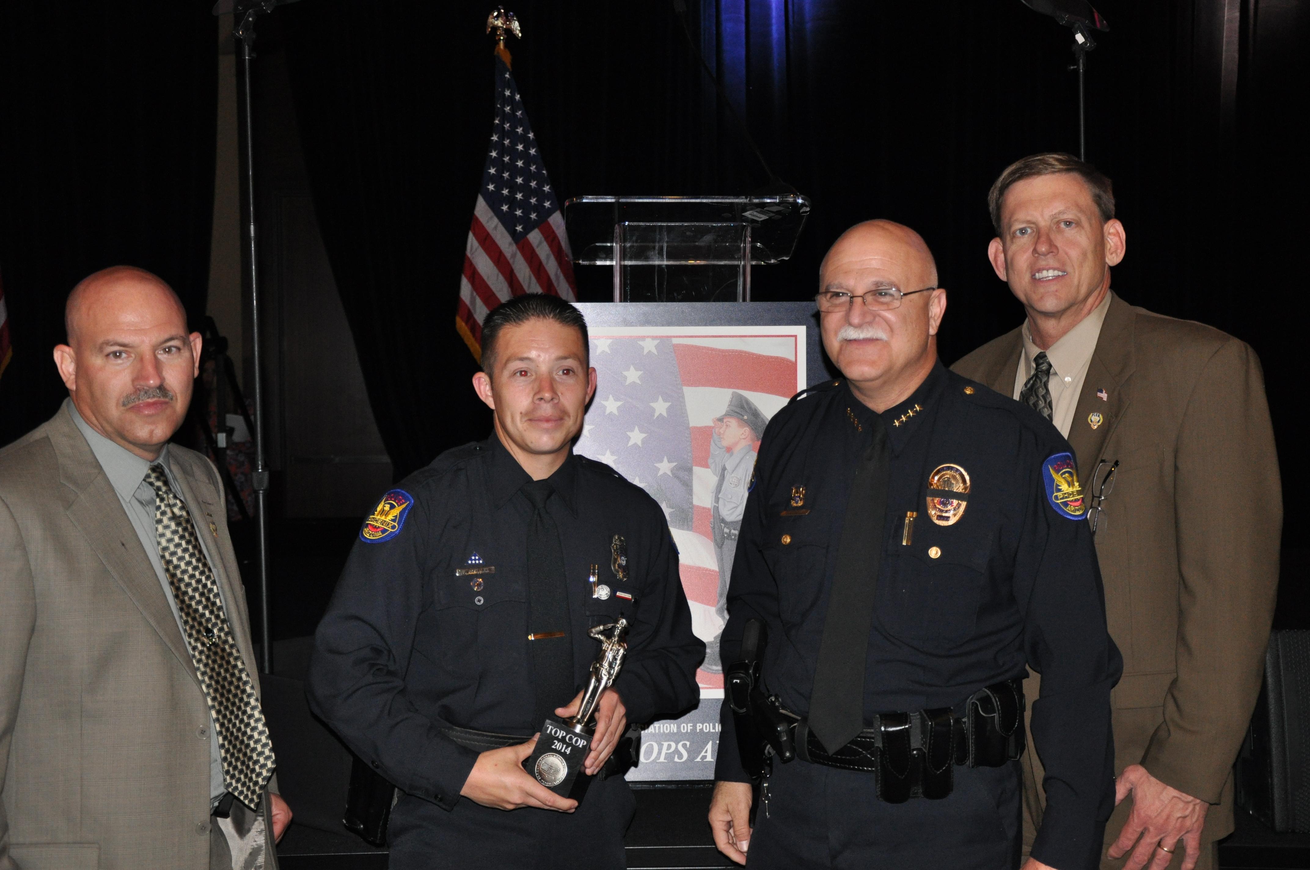 Phoenix Detective Fabian Gonzalez Recognized as Top Cop