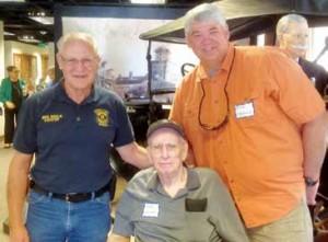 Mike Nikolin, Glen Calkins and Rick Calkins