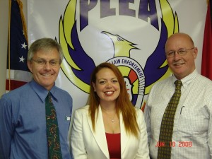 """Pictured left to right: Mr. Leslie Gonye. Ms. Angela D""""Amore MP, and Mr. Peter Draper MP."""
