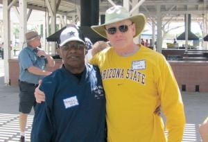 Spence Preston and Dennis Jeter