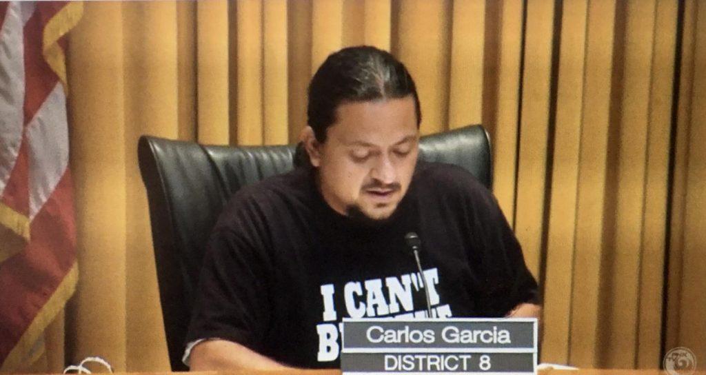 Carlos Garcia - June 3